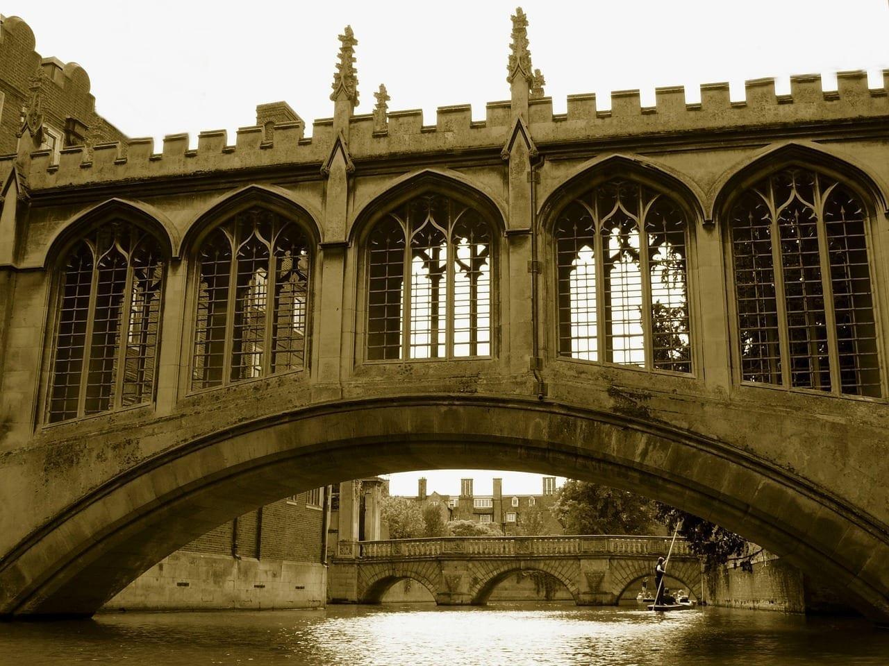 Puente Suspiros Cambridge Reino Unido