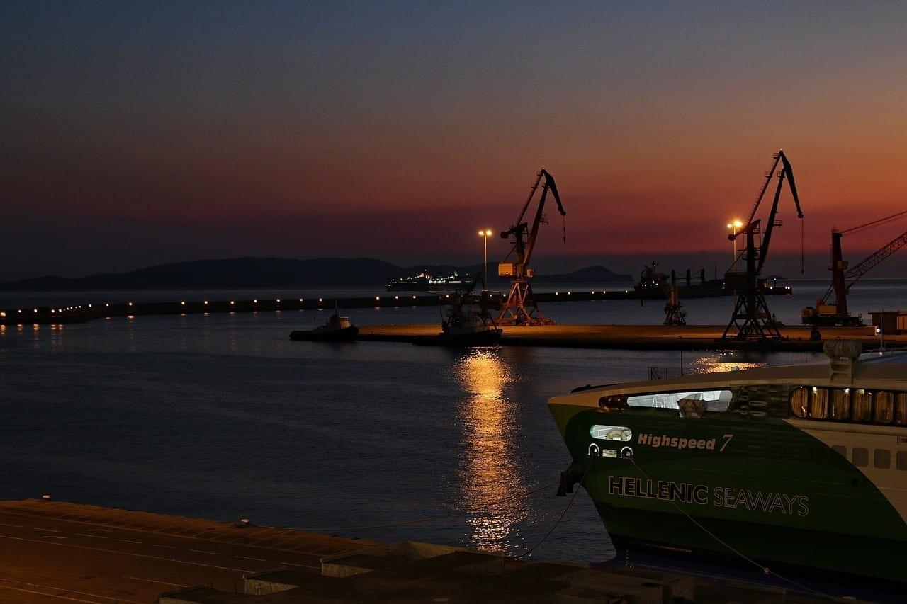 Puerto Creta Heraklion Grecia