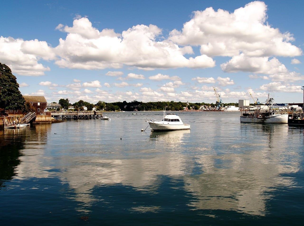 Puerto De Portsmouth Portsmouth Nh Reino Unido