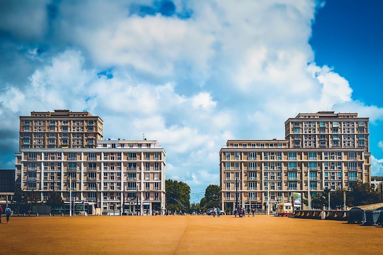 Puerto Edificios Le Havre Francia