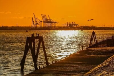 Puerto Southampton Mar Reino Unido