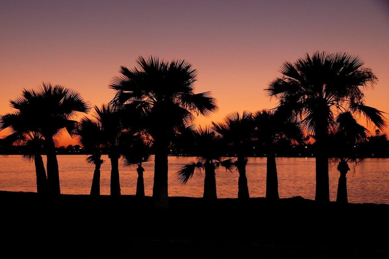 Puesta De Sol San Diego California Estados Unidos