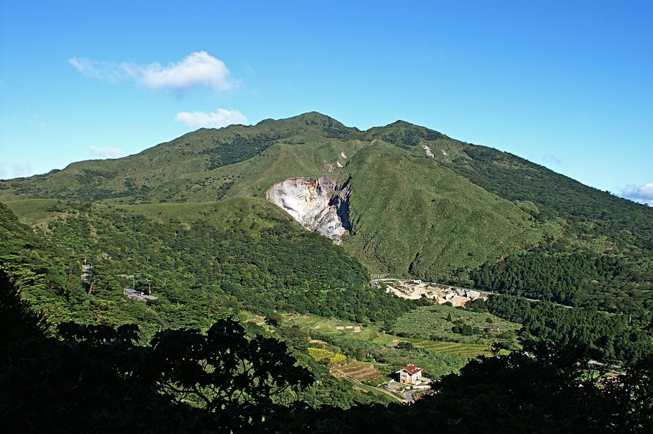 Qixingshan en el Parque Nacional Yangmingshan Taipéi Taiwán