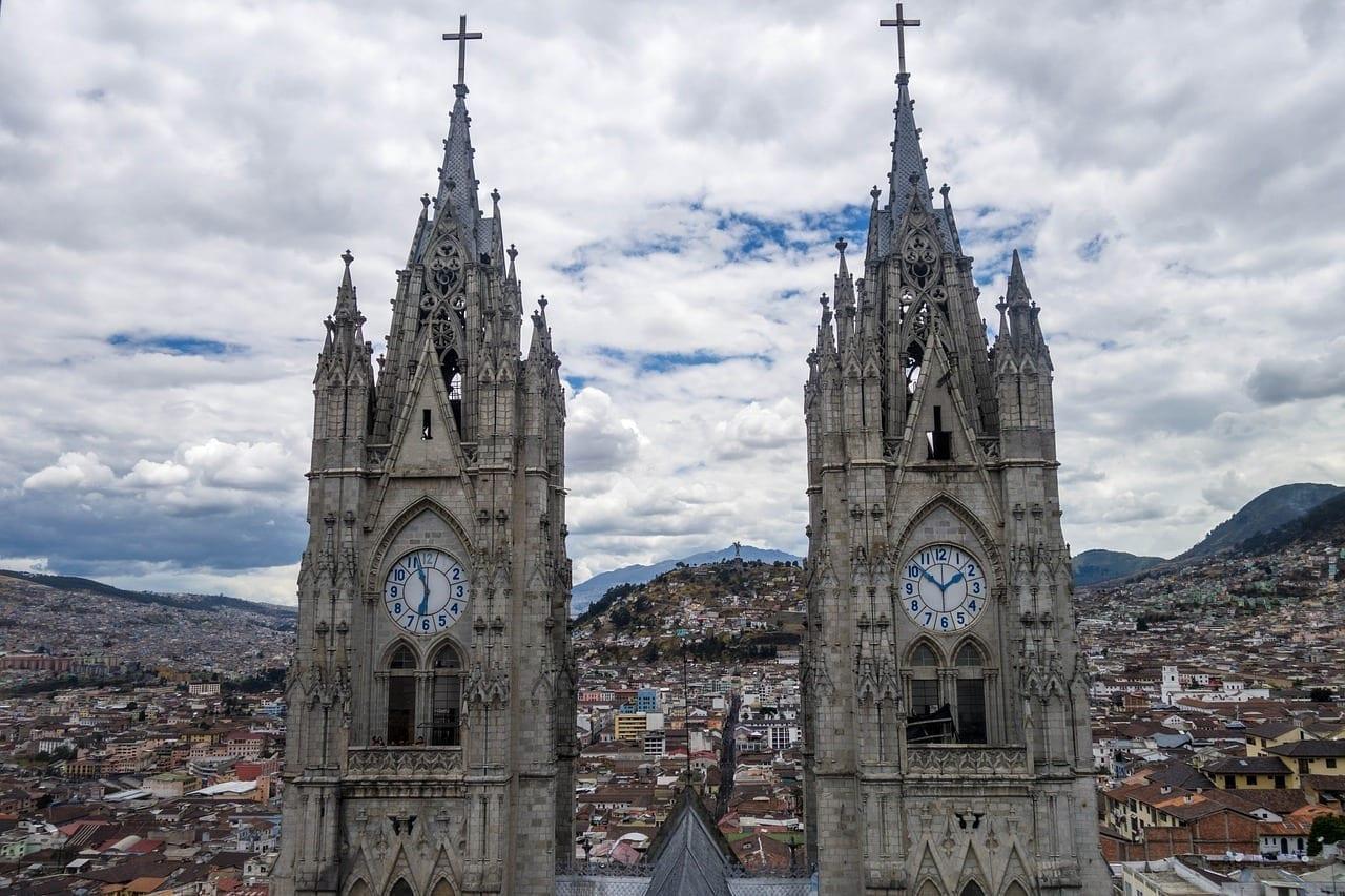 Quito Ecuador Iglesia Ecuador