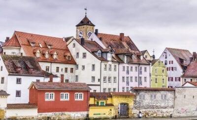 Regensburg Edad Media Antiguos Alemania