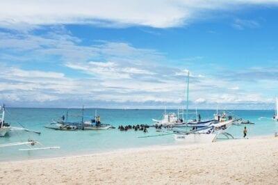 República De Filipinas Boracay Mar Filipinas