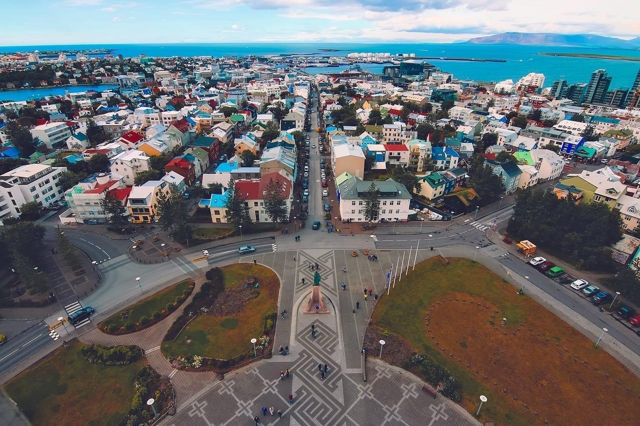 Reykjavik Islandia Ciudad Islandia