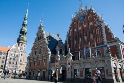 Riga Históricamente Lugares De Interés Letonia