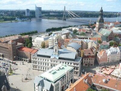 Riga Letonia Arquitectura Letonia
