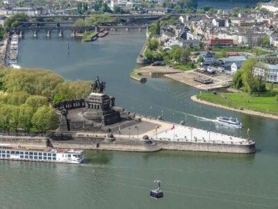 Rincón Alemán Koblenz Rin Alemania