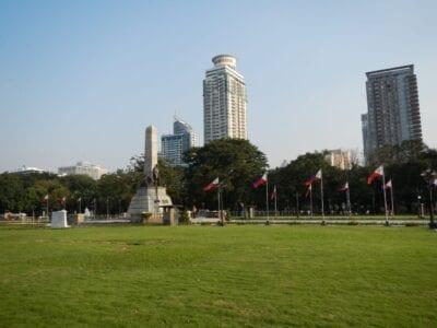 Rizal Park Intramuros (Manila) Filipinas