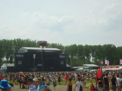 Rock Werchter. Lovaina Bélgica