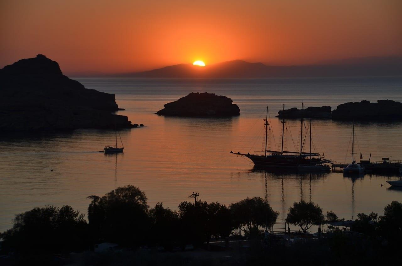 Rodas Lindos Sun Grecia