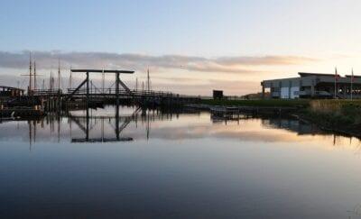 Roskilde Países Bajos Puesta De Sol Dinamarca