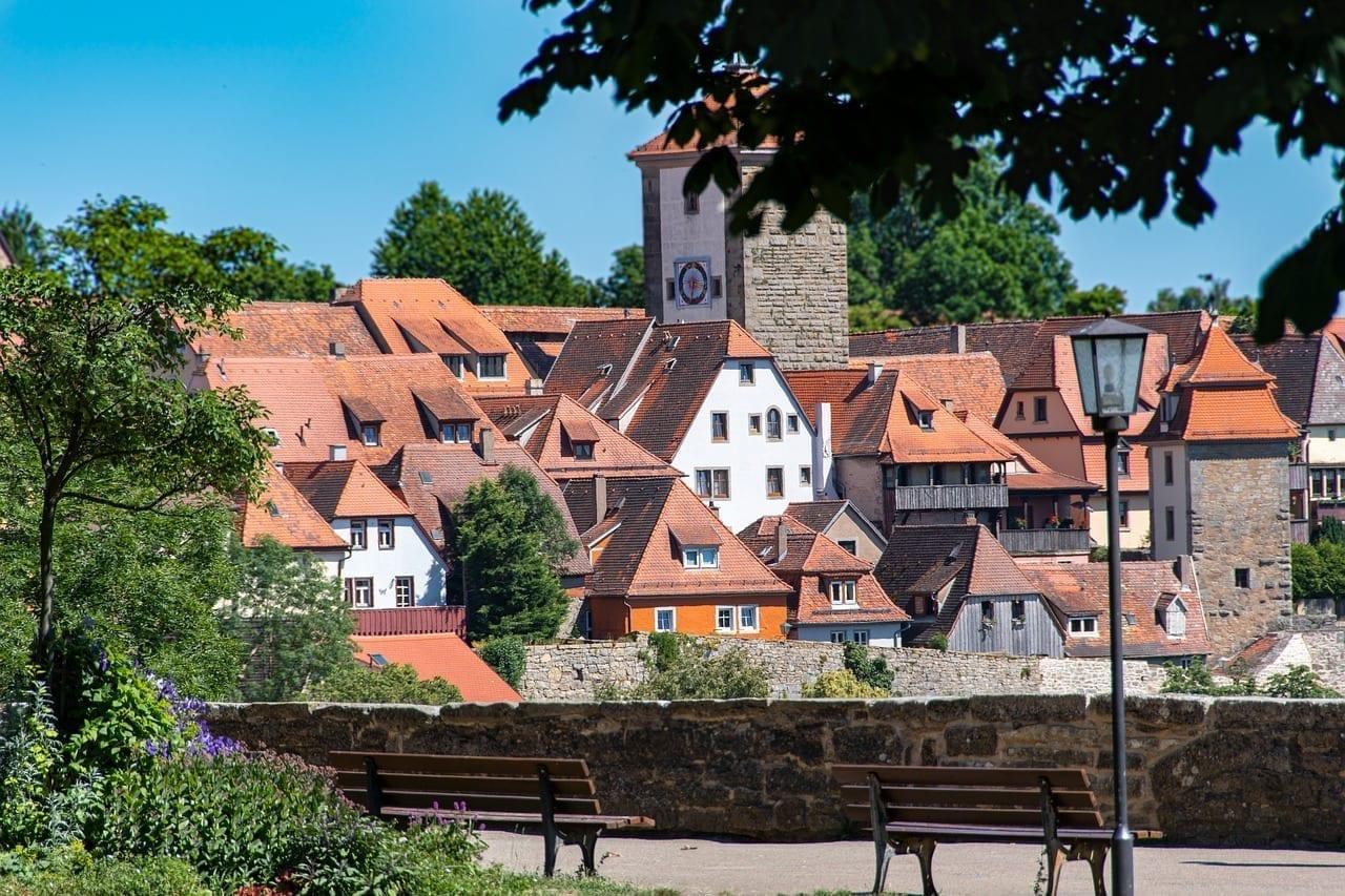 Rothenburg Ob Der Tauber Alemania Baviera Alemania