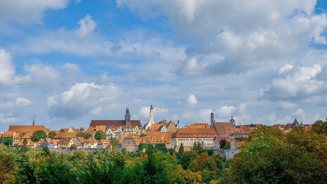 Rothenburg Ob Der Tauber Ciudad Alemania Alemania