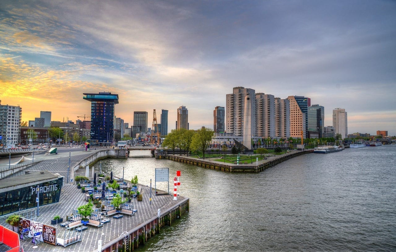 Rotterdam Países Bajos Ciudad Países Bajos