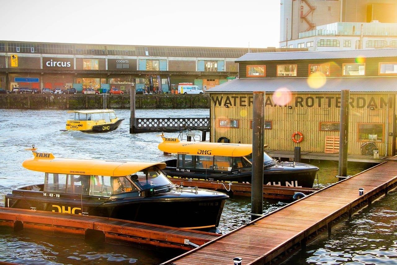 Rotterdam Países Bajos Río Países Bajos