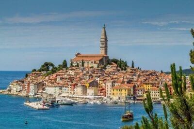 Rovinj Croacia Mar Croacia