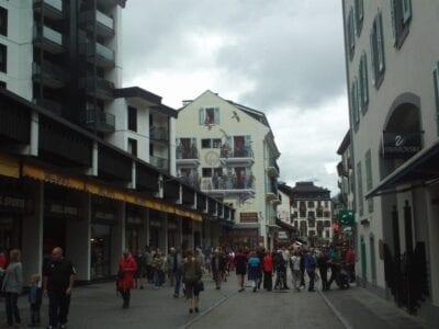 Rue du Docteur Paccard Chamonix Francia
