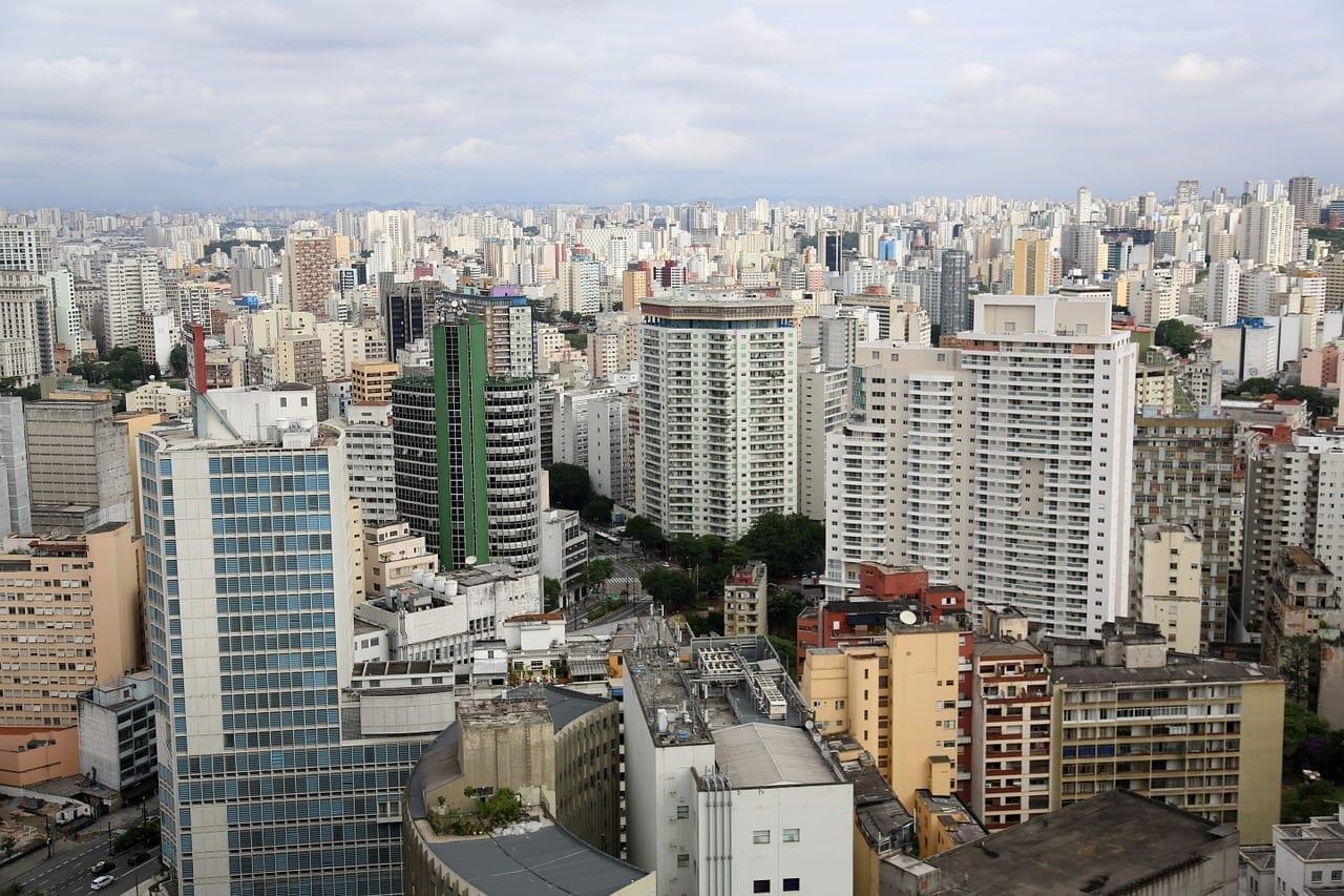 São Paulo Edificios Urbano Brasil