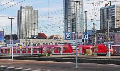 S-bahn Terminal Hbf Dortmund Transporte Alemania
