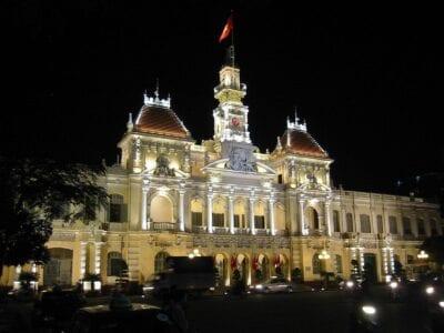 Sala del Comité del Pueblo Ho Chi Minh (Saigón) Vietnam