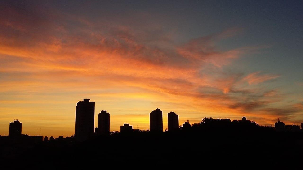 Sampa São Paulo Amanecer Brasil