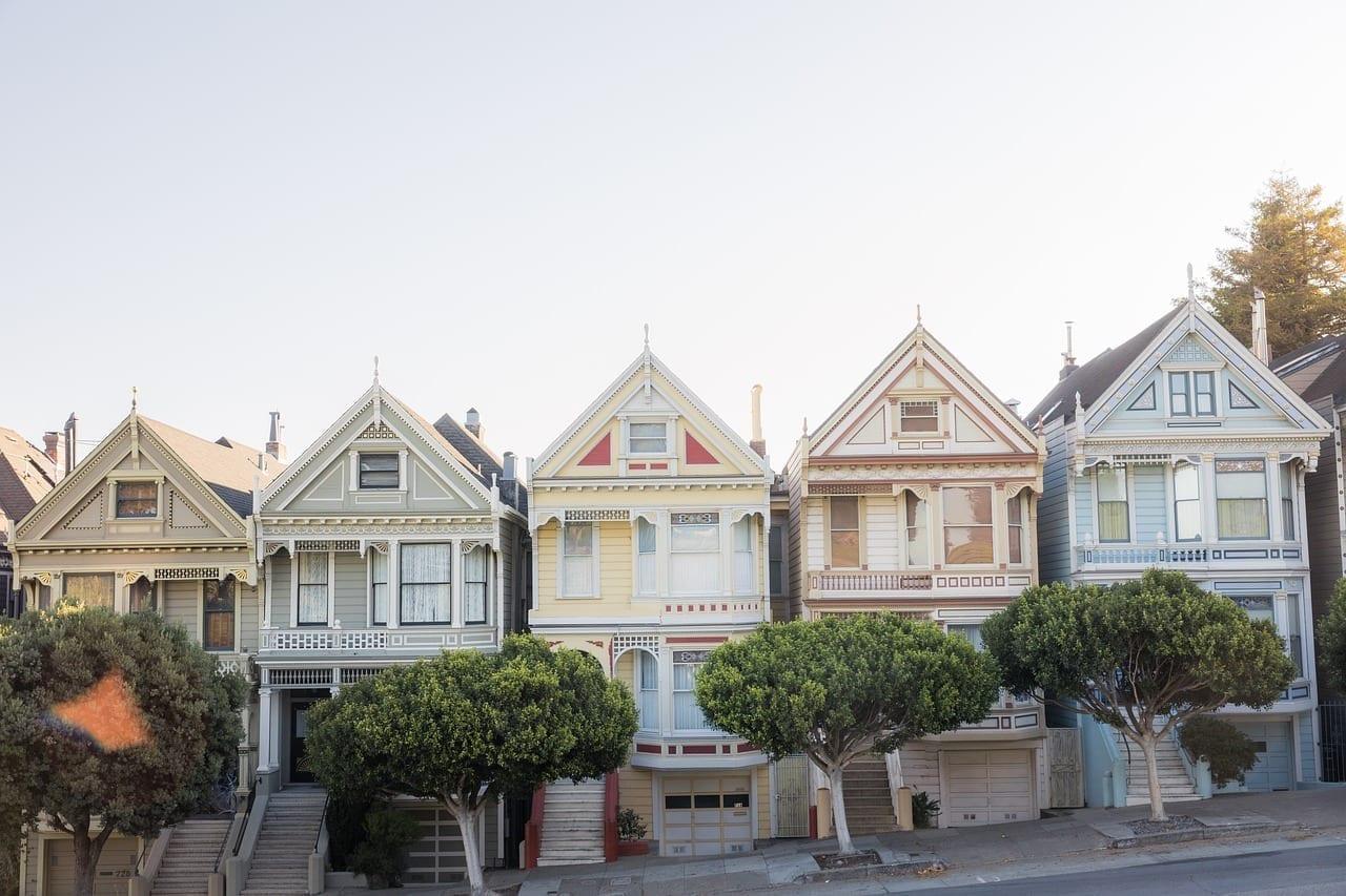 San Francisco Horizonte Casa Estados Unidos