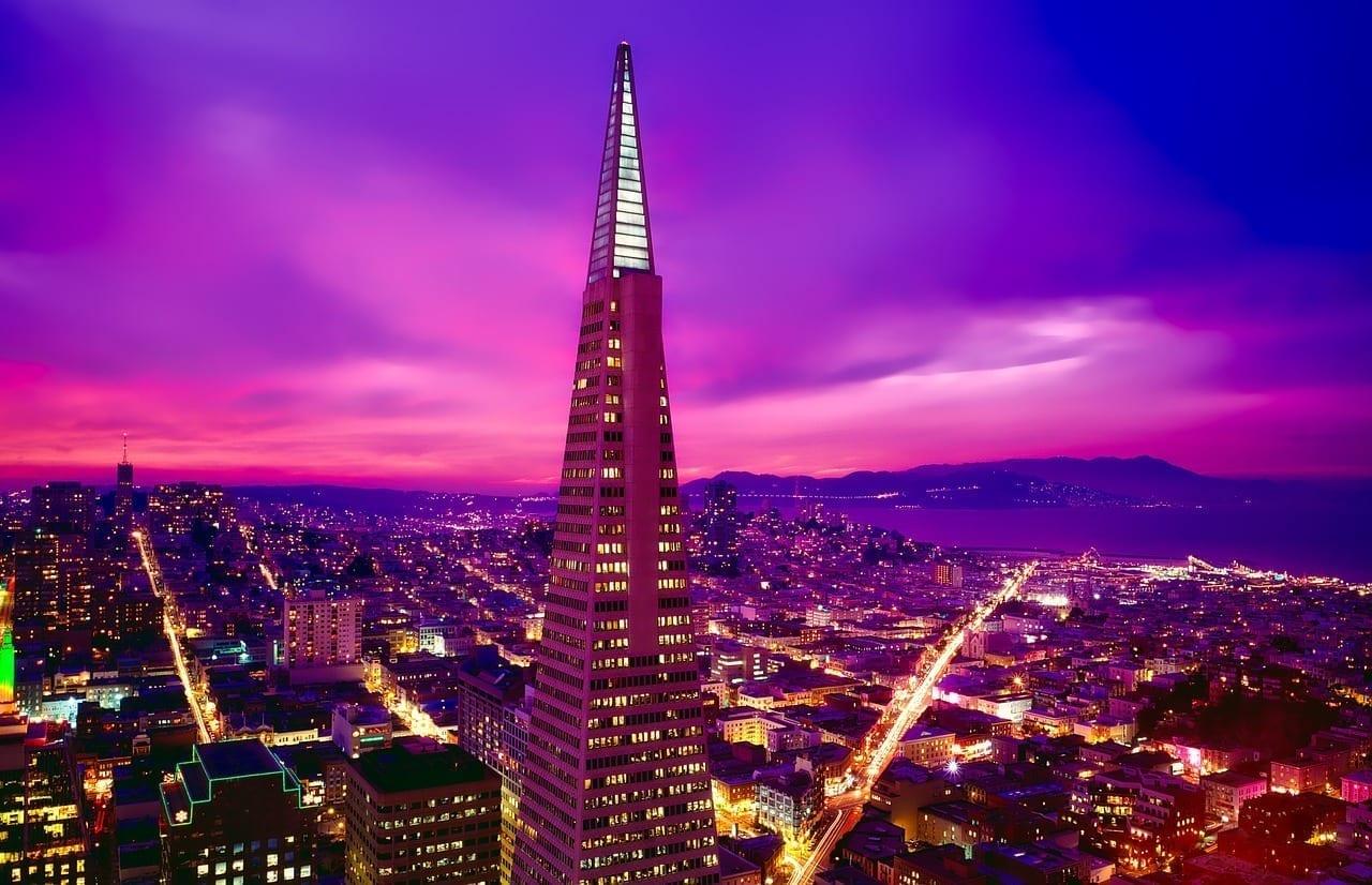 San Francisco Transamerica Pyramid California Estados Unidos