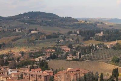 San Gimignano Toscana Italia Italia
