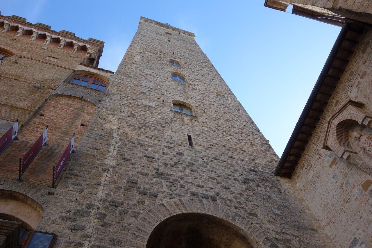 San Gimignano Tuscany Torre Italia
