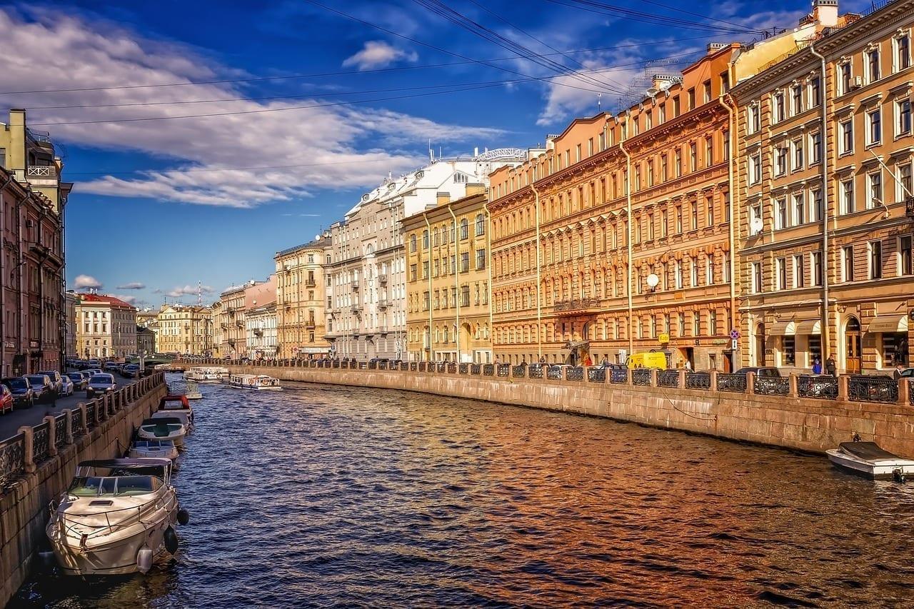 San Petersburgo Centro Historico Canal Rusia
