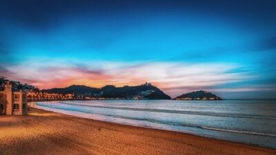 San Sebastián Puesta De Sol Playa España