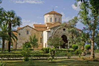Santa Sofía (Aya Sofia) de Trabzon Trebisonda Turquía