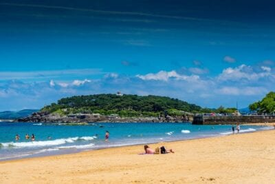 Santander Playa Mar España