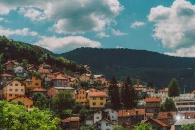 Sarajevo Bosnia Ciudad Capital Bosnia y Herzegovina