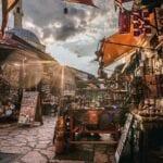 Sarajevo Bosnia Mercado Bosnia y Herzegovina