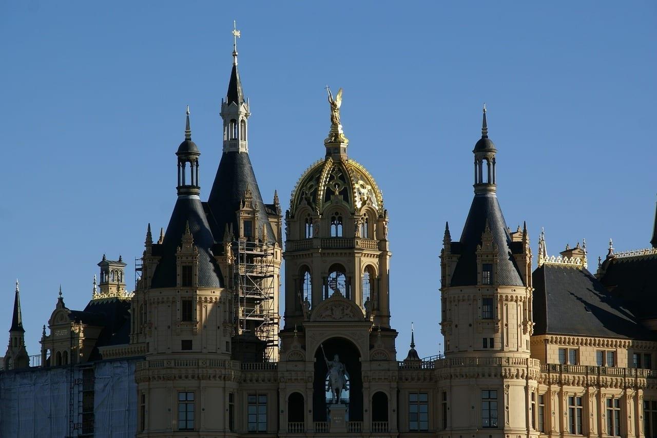 Schwerin Castillo Alemania Alemania
