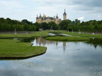 Schwerin Castillo Mecklemburgo Alemania