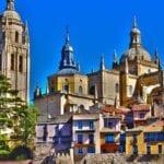 Segovia Catedral Monumento España