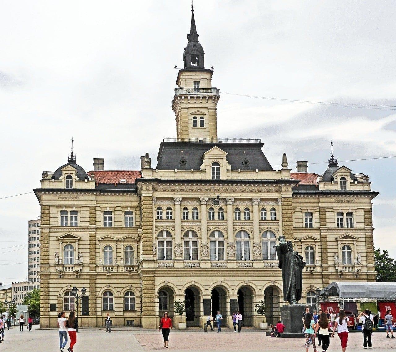 Serbia Novi Sad Ayuntamiento Serbia