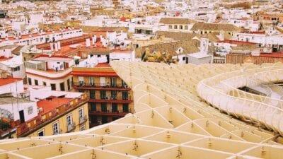 Sevilla España Metropol Parasol España