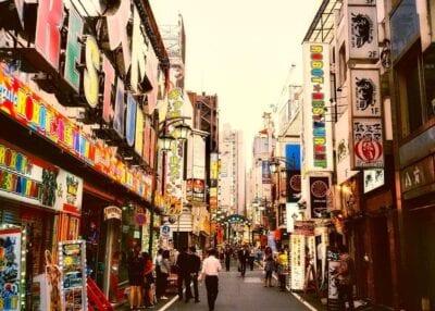 Shinjuku Japón Ciudad Japón