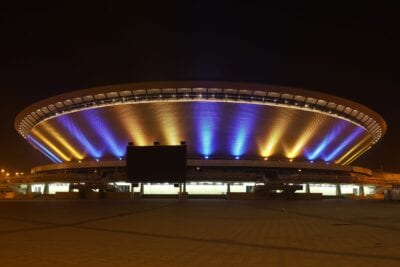 Shorse por la noche Katowice Polonia