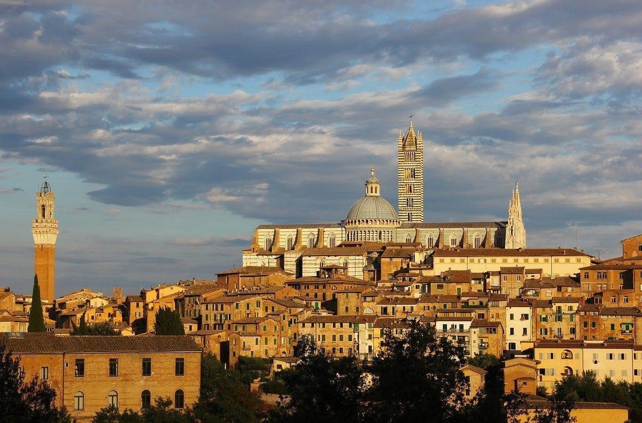 Siena Tuscany Ciudad Italia