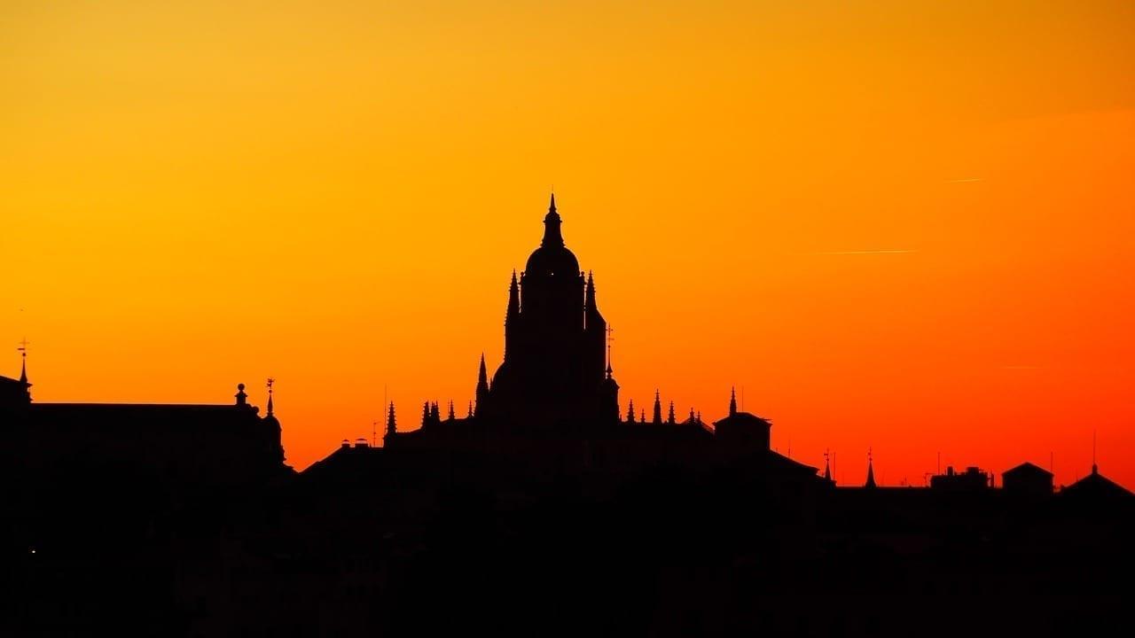 Silueta Puesta Segovia España