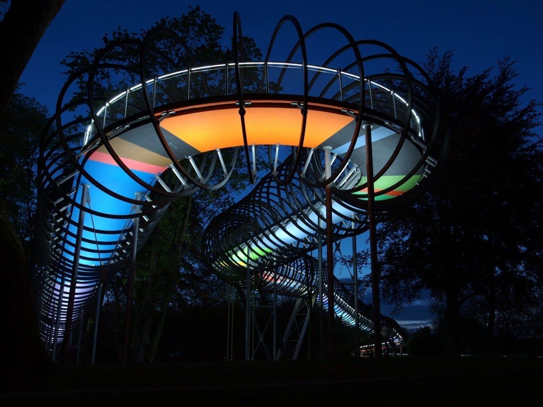 Slinky salta a la fama Oberhausen Alemania