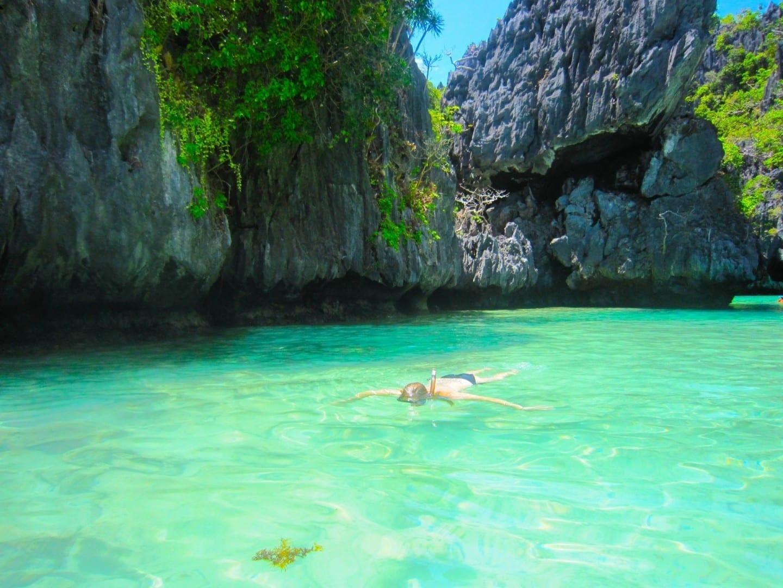 Snorkeling en la Laguna Verde, Bacuit Bay El NIdo Filipinas