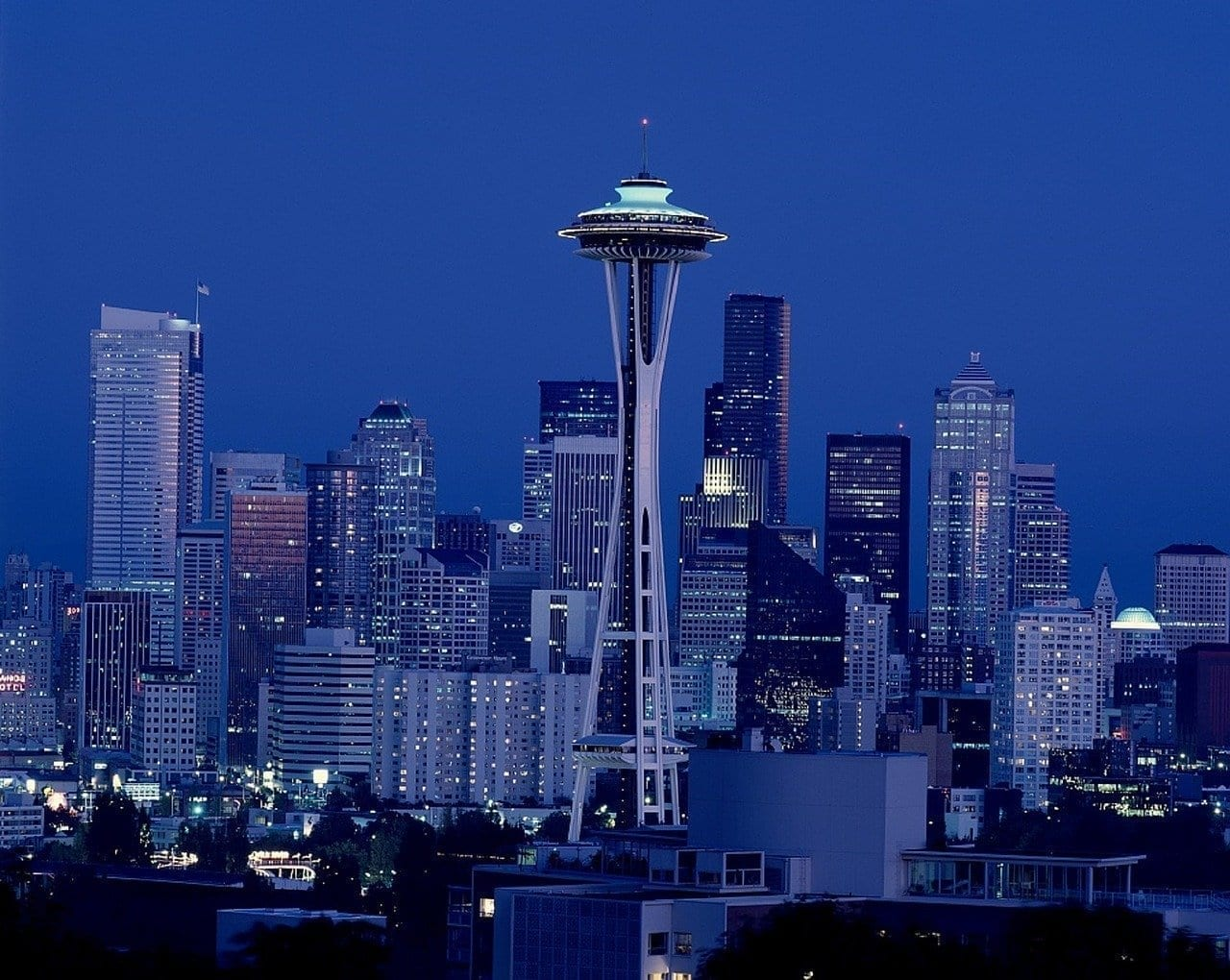 Space Needle Seattle Washington Estados Unidos